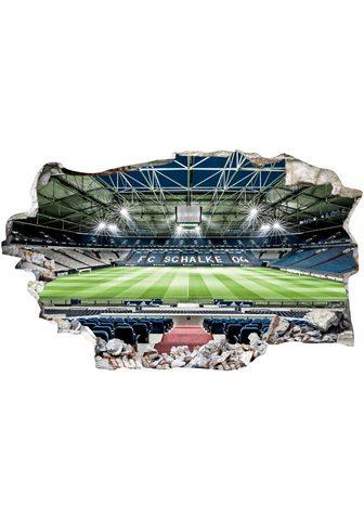 Sienos lipdukai »FC Schalke 04 Arena T...
