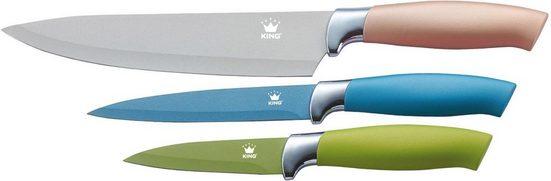 KING Messer-Set »Metallic Design« (Set, 3-tlg)