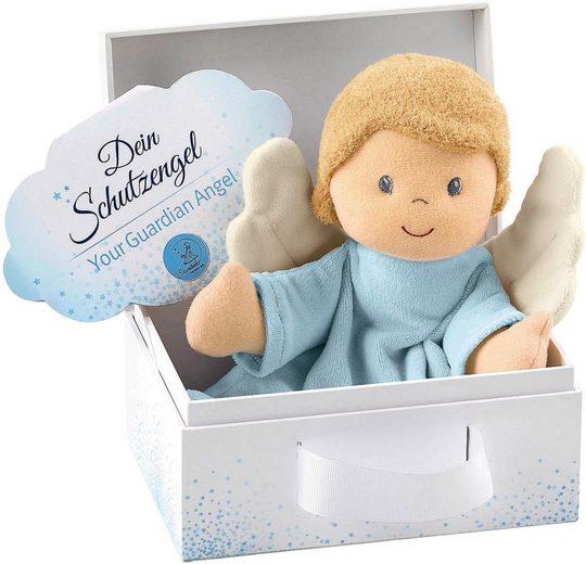 Sterntaler® Schmusetuch »Schutzengel, hellblau«, mit Geschenkbox