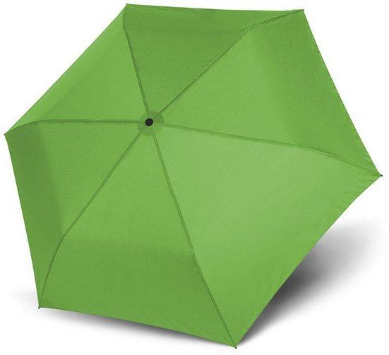 doppler® Taschenregenschirm »Zero 99 uni, Peppy Lime«