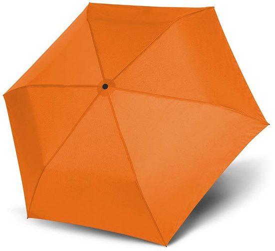 doppler® Taschenregenschirm »Zero 99 uni, Fruity Orange«