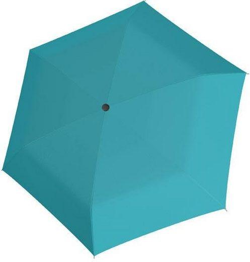 doppler® Taschenregenschirm »Fiber Handy uni, Blue«