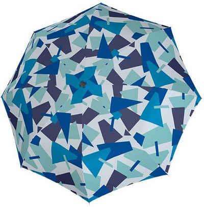 doppler® Taschenregenschirm »Fiber Magic Crush, blau«