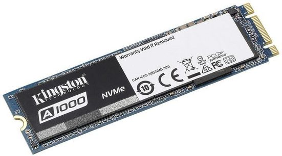 Kingston »A1000 M.2« SSD (240 GB) 1500 MB/S Lesegeschwindigkeit)