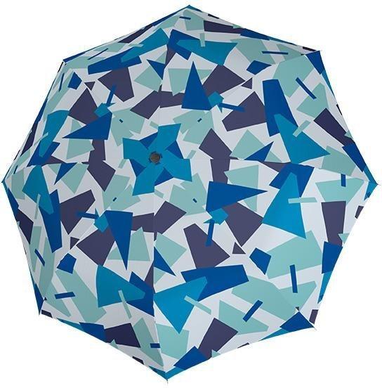 Regenschirme - doppler® Stockregenschirm »Fiber Flex Automatic Crush, blau« ›  - Onlineshop OTTO