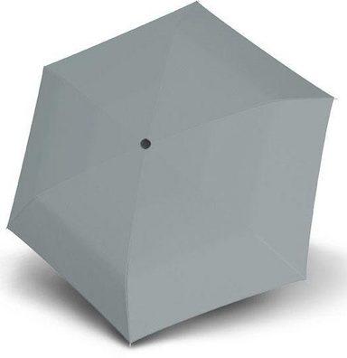 doppler® Taschenregenschirm »Fiber Havanna uni, Cool Grey«