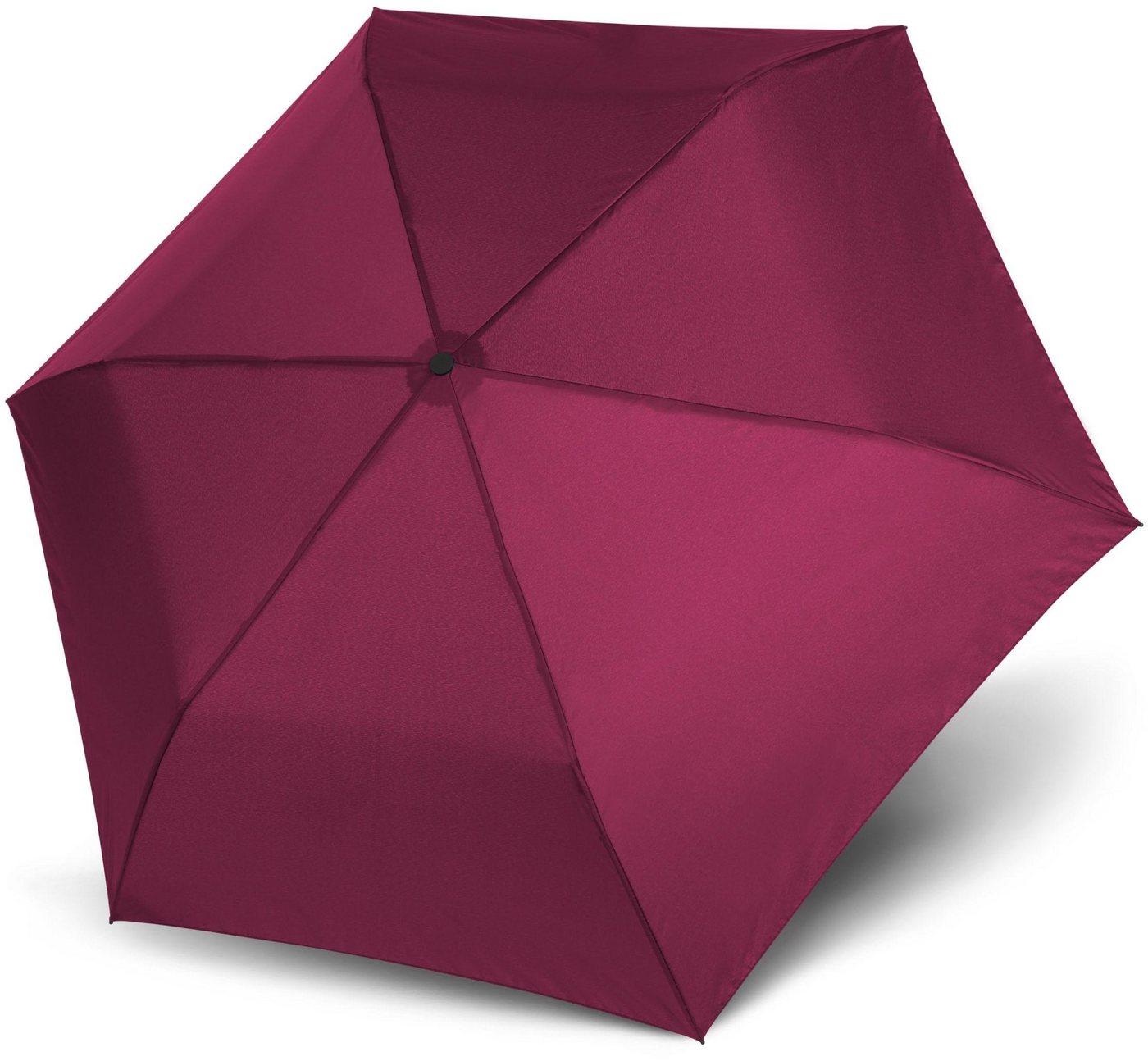 Regenschirme - doppler® Taschenregenschirm »Zero 99 uni, Royal Berry« ›  - Onlineshop OTTO