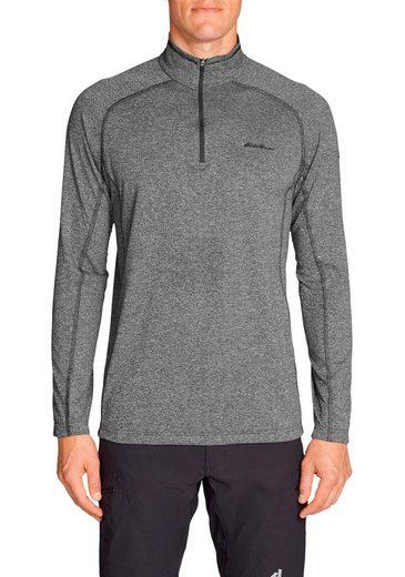 Eddie Bauer Motion Langarmshirt Resolution Shirt mit 1/4-Reissverschluss