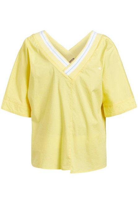 khujo Oversize-Shirt »MOHI« Oversized mit Rückenausschnitt | Bekleidung > Shirts > Oversize-Shirts | khujo