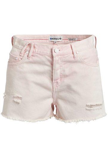 khujo Hotpants »ULINA« (1-tlg) mit Destroyed-Details