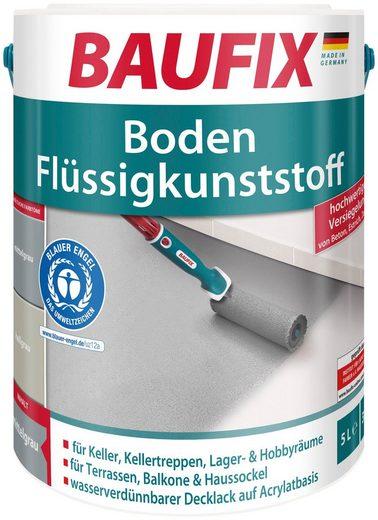 BAUFIX Acryl Flüssig Kunststoff für den Boden, hellgrau, 5 l