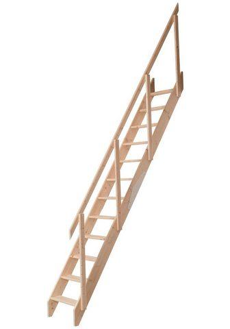 DOLLE Kompaktiški laiptai »Kiel« dėl Geschos...