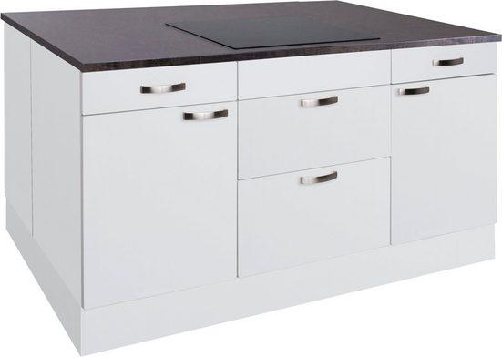 OPTIFIT Kochinsel »Cara«, ohne E-Geräte, mit Vollauszügen und Soft-Close-Funktion, Stellbreite 160 x 95 cm