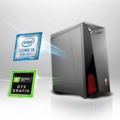 MSI Infinite 8RC-487DE Gaming-PC (Intel Core i5, GTX 1060, 16 GB RAM, 1000 GB HDD, 128 GB SSD, Luftkühlung)