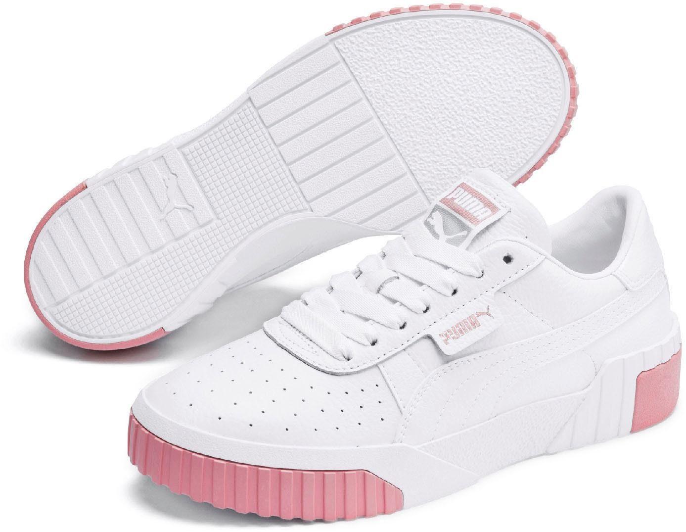 PUMA Cali Wn's Sneaker weiß schwarz 8455900034