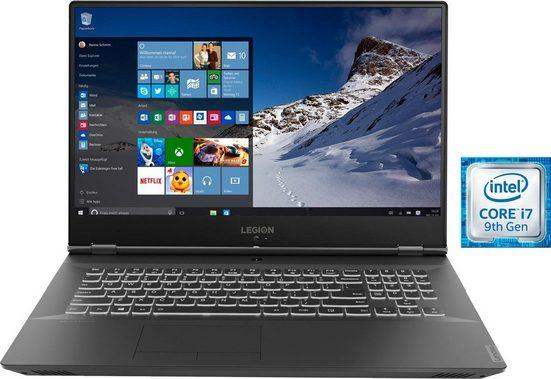 Lenovo Legion Y540-17IRH, 81Q4001GGE Notebook (43,94 cm/17,3 Zoll, Intel Core i7, 1000 GB HDD, 1000 GB SSD, inkl. Office-Anwendersoftware Microsoft 365 Single im Wert von 69 Euro)