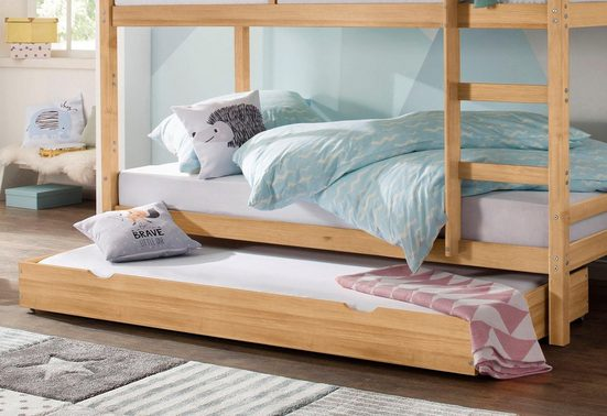 Lüttenhütt Schubkasten »Alpi«, passend für das Etagenbett der Serie Alpi, aus massivem Kiefernholz, in 3 verschiedenen Farben