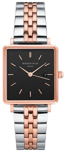 ROSEFIELD Quarzuhr »The Boxy, QVBSD-Q016«