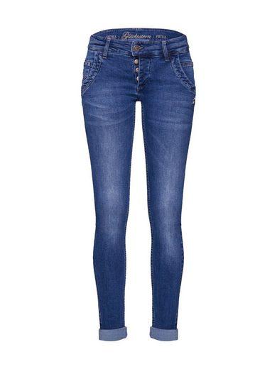 Glücksstern Slim-fit-Jeans »Petra«