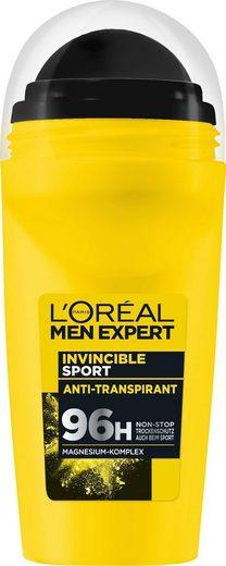 L'ORÉAL PARIS MEN EXPERT Deo-Roller »Invincible Sport Anti-Transpirant«, Zuverlässiger Deo Schutz beim Sport