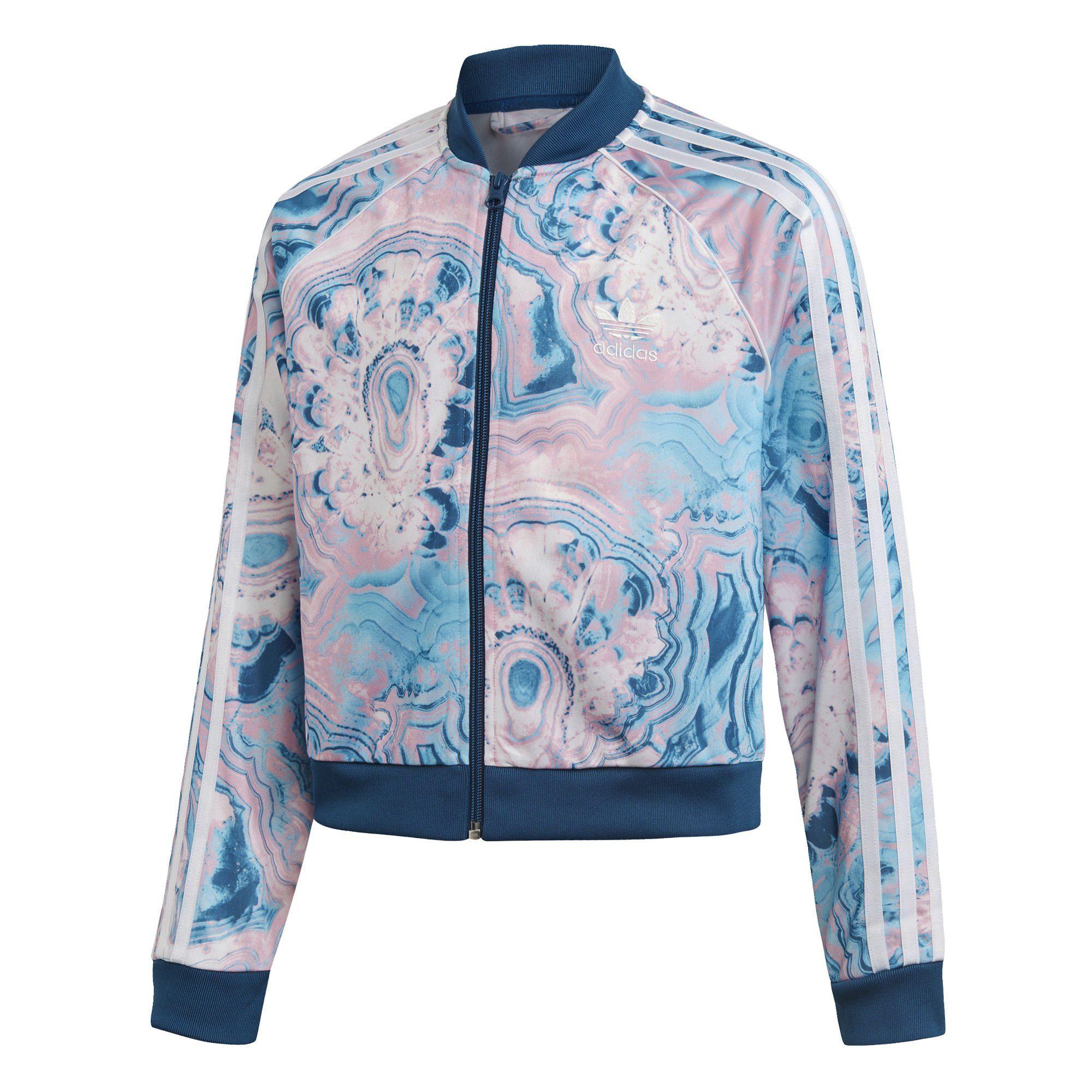 adidas Originals Sweatjacke »Marble Cropped SST Originals Jacke« AOP PACK online kaufen | OTTO