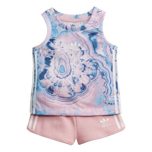 adidas Originals Trainingsanzug »Marble Shorts-Set«, AOP PACK