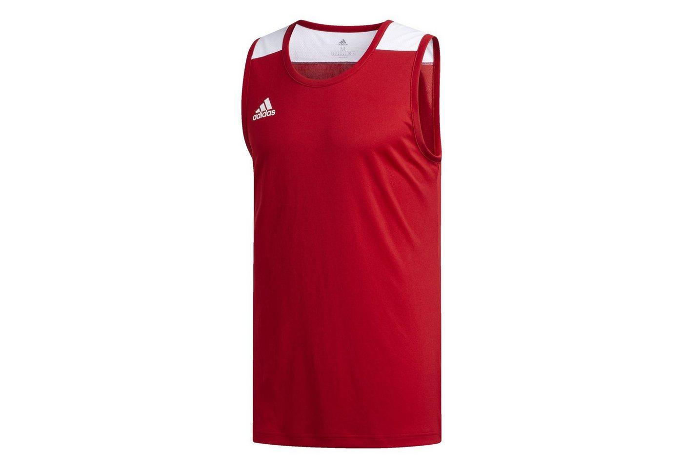 adidas Performance Basketballtrikot »Creator 365 Jersey« | Sportbekleidung > Trikots > Basketballtrikots | Rot | Polyester | adidas Performance
