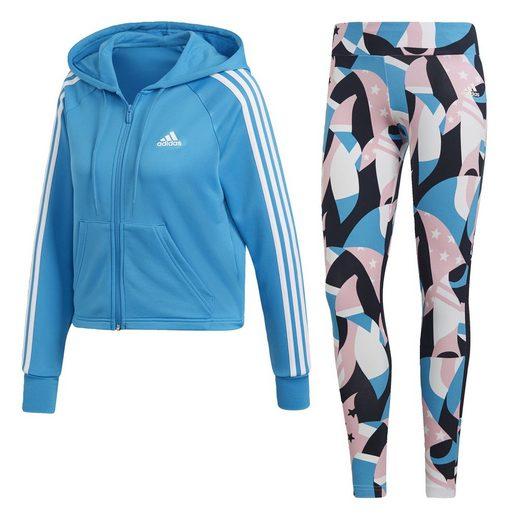 adidas Performance Trainingsanzug »Hoodie and Tights Trainingsanzug«