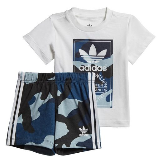 adidas Originals Trainingsanzug »Camouflage T-Shirt-Set«, adicolor