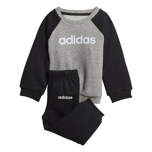 adidas Performance Trainingsanzug »Linear Fleece Jogginganzug«, Essentials