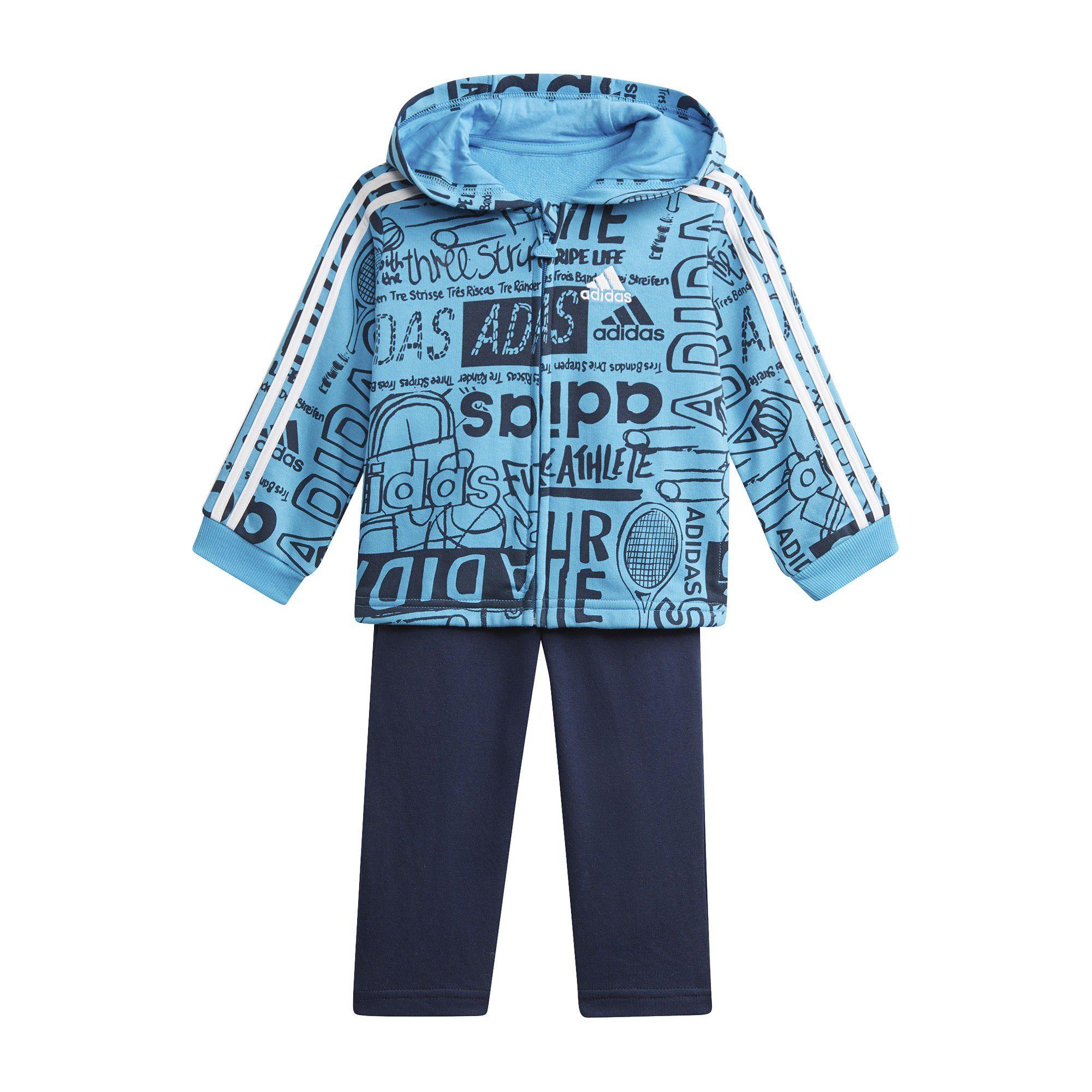 adidas Performance Trainingsanzug »Graphic Fleece Jogginganzug« online kaufen | OTTO