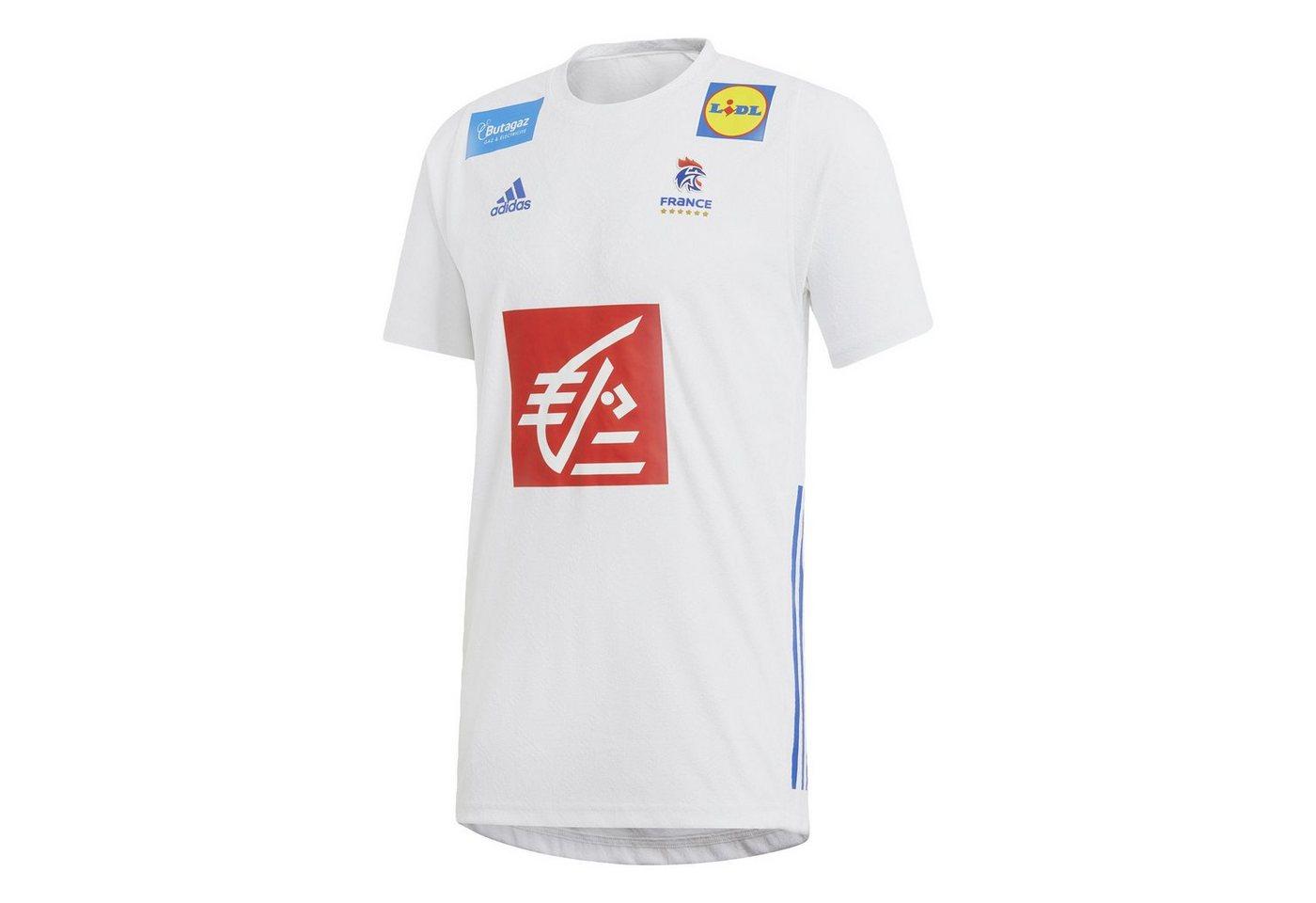 adidas Performance Handballtrikot »French Handball Federation Trikot« | Sportbekleidung > Trikots > Handballtrikots | Weiß | adidas Performance