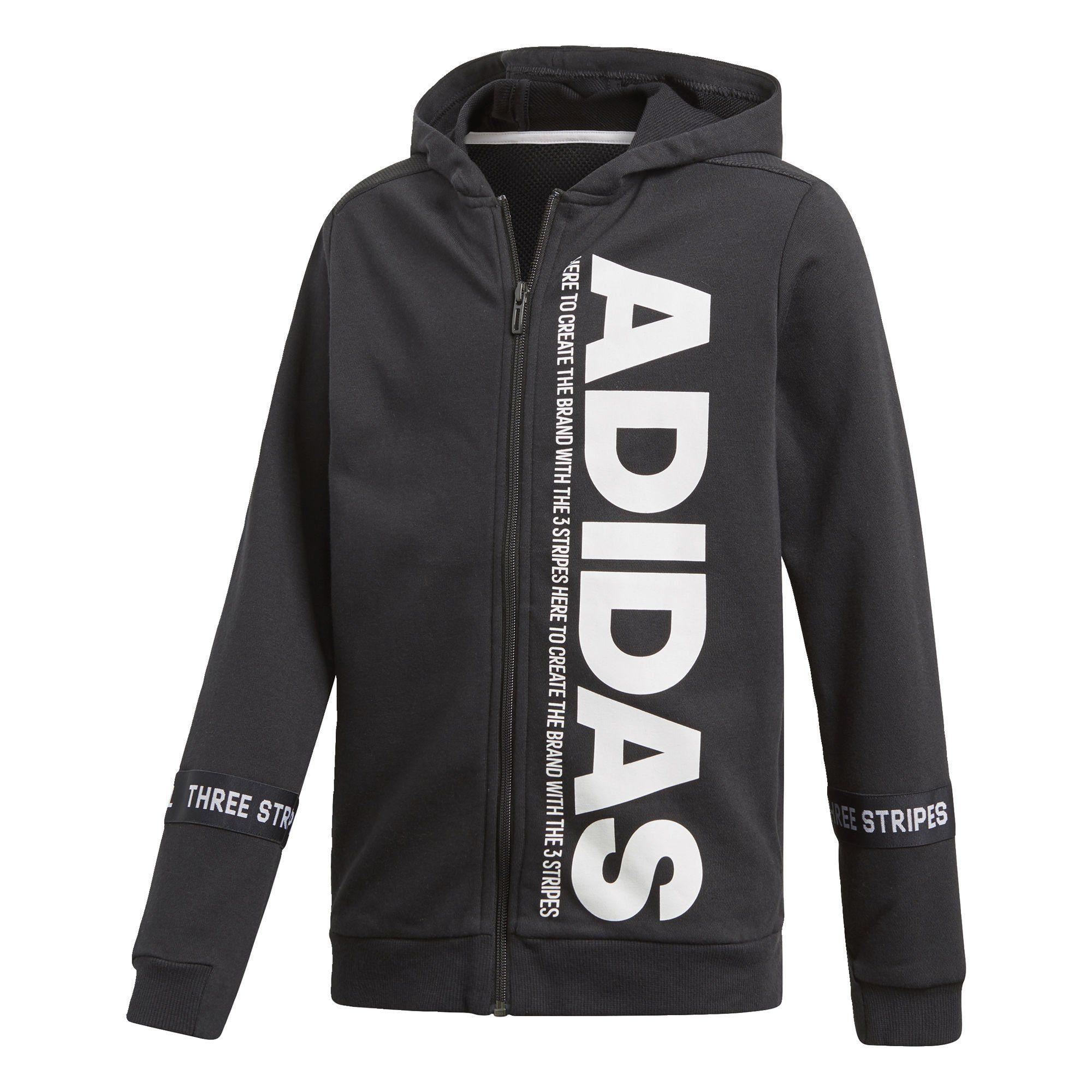 Details zu adidas Performance Sport ID Kapuzenjacke Kinder NEU