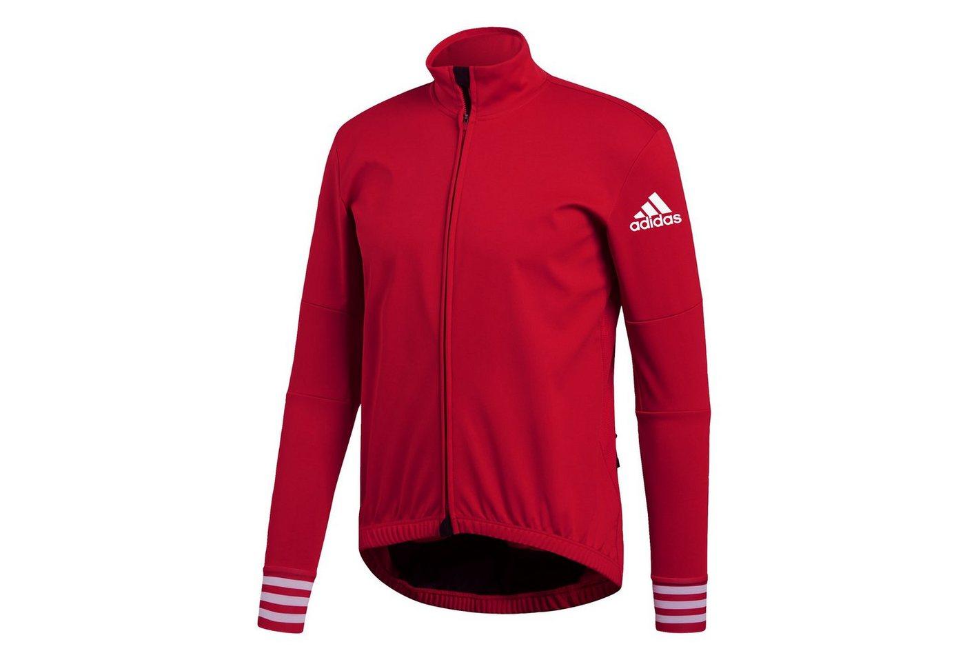 adidas Performance Sporttop »Adistar Winter Trikot« | Sportbekleidung > Trikots > Sonstige Trikots | Rot | Trikot | adidas Performance