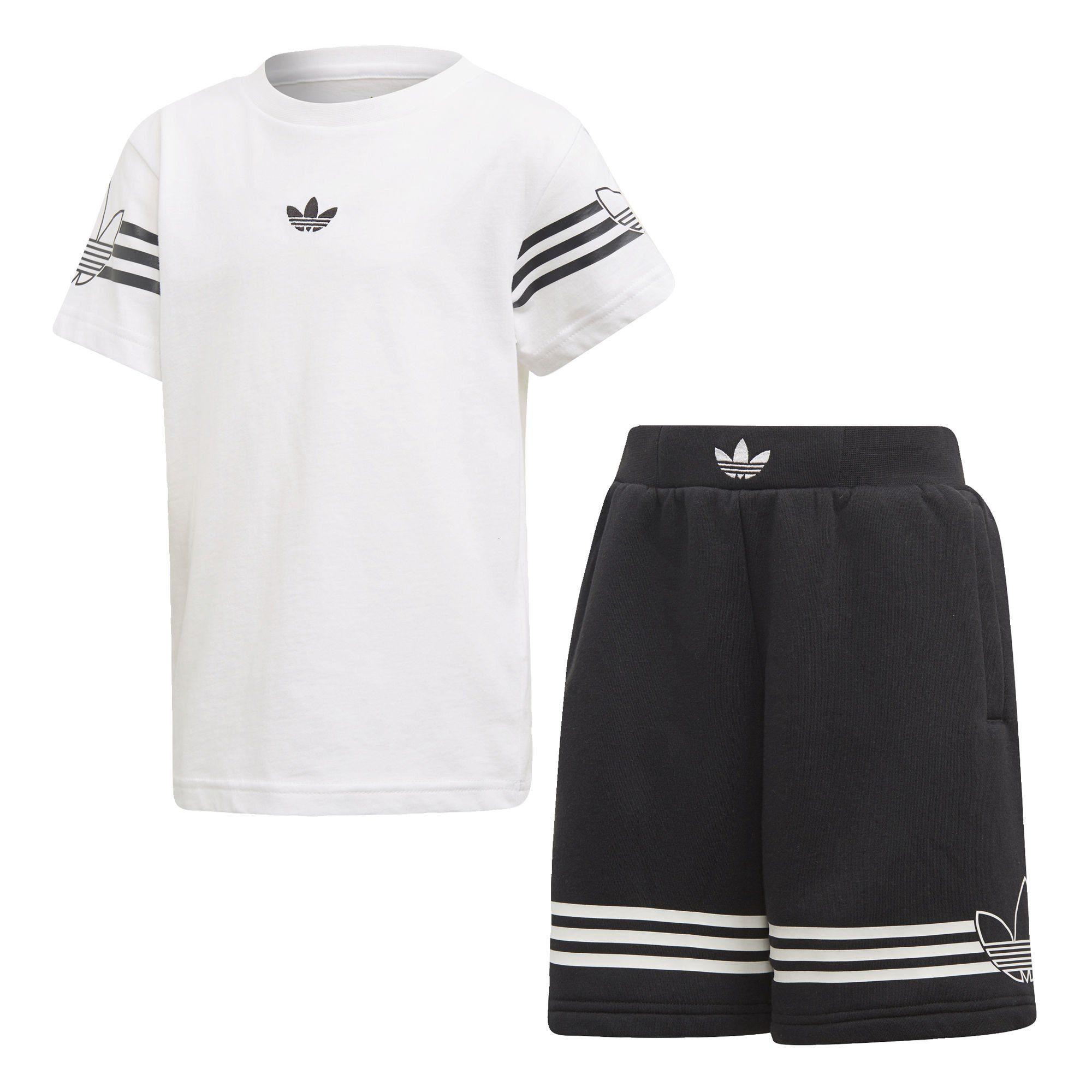 adidas Originals Sportanzug »Outline Shorts und T Shirt Set« online kaufen   OTTO
