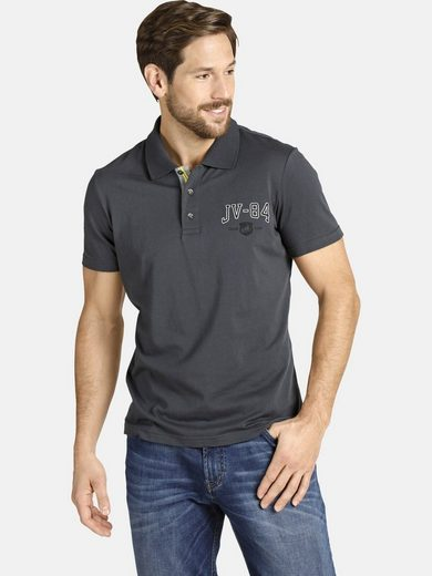 Jan Vanderstorm Poloshirt »JERRES« mit dezenten Kontrasten