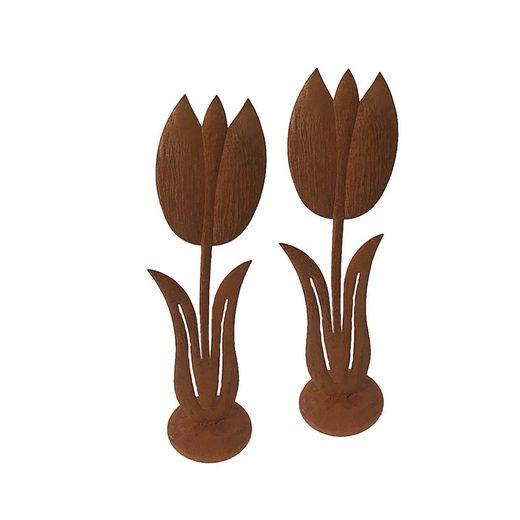HTI-Line Gartendeko Verena »Tulpe 2er Set«