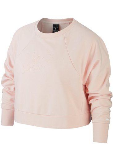 Nike Sweatshirt »WOMEN NIKE DRY LUX CREW PLUS SIZE« In großen Größen