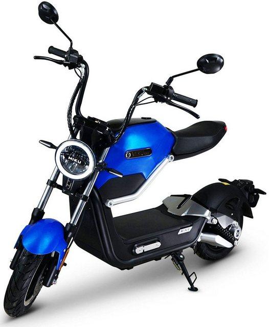 Miku Max E-Motorroller »ORIGINAL Miku Max«, 800 W, 45 km/h*