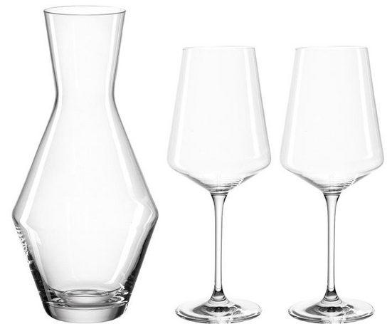 LEONARDO Gläser-Set »Puccini« (3-tlg), Teqton-Qualität