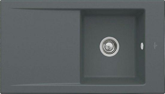 Villeroy & Boch Einbauspüle »Timeline 50« mit Abtropffläche, 90 cm breit