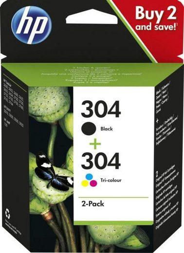 HP »hp 304 Druckerpatrone Multipack« Tintenpatrone (HP304)