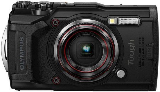 Olympus »Tough TG-6« Outdoor-Kamera (12 MP, 4x opt. Zoom, WLAN (Wi-Fi)