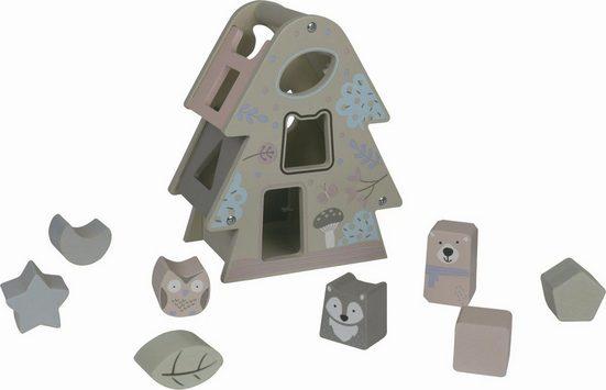 EverEarth® Steckspielzeug »Tannenbaumsortierspiel Pastell«