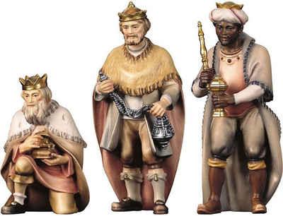 ULPE WOODART Krippenfigur »Hl. Drei Könige« (Set, 3 Stück), Handarbeit, hochwertige Holzschnitzkunst