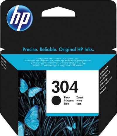 HP »hp 304 Druckerpatrone N9K05AE schwarz« Tintenpatrone