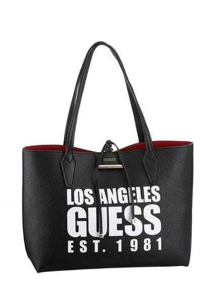 b1d480a44a45b Guess Shopper »Bobbi inside out Tote«