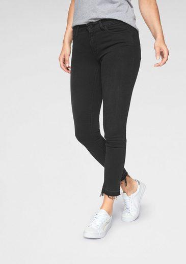 Replay Skinny-fit-Jeans »LUZ« mit offener Kante im Used-Look
