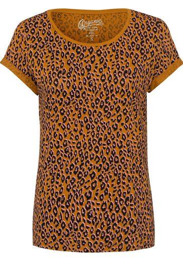 edc by Esprit T-Shirt im angesagten Animal-Print