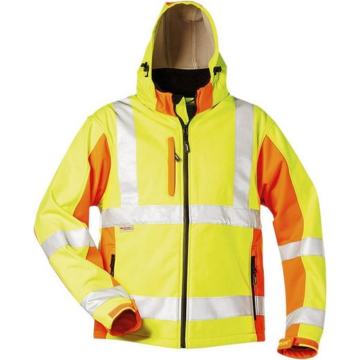 Elysee Warnschutz-Softshell-Jacke Größe L